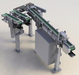 CNC Feed Conveyor System